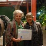 Rodica with Mrs. Emma Nardi on right side