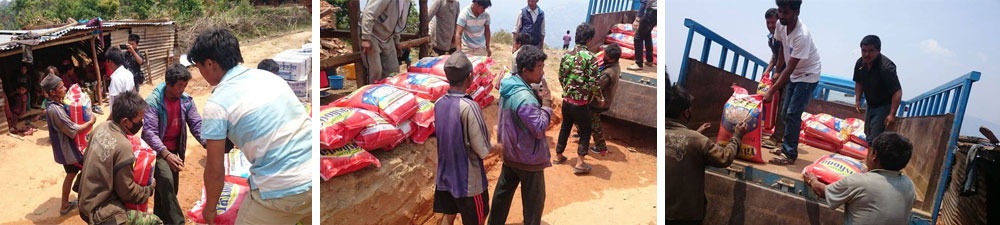 Nepal Aid Delivery