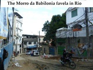 The Morro da Babilonia Favela in Rio