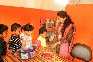 Chaite Dashian Celebrated at Rainbow Children Home Nepal