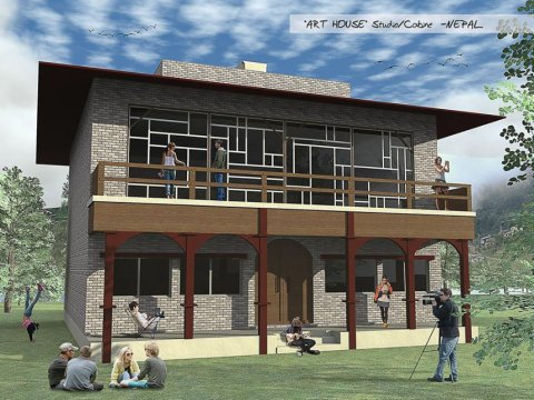 Trek the himalayas in nepal and help develop a new for Nepali house design