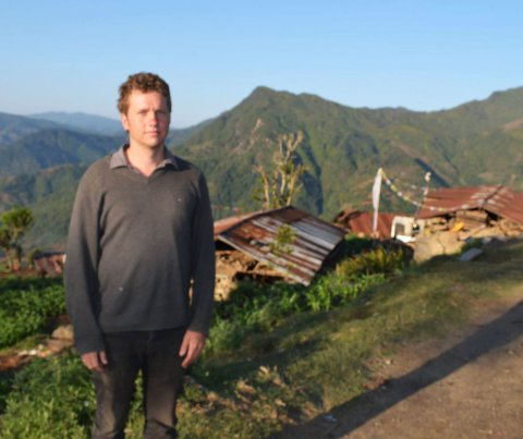 Mark in Nepal after the Earthquake