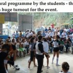 Cultural programme by the students