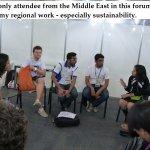 Kehkashan Basu sharing regional work.