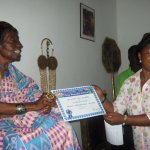 Chief and Queen Mother Nana Apeadu Boyce Yiadom receives first One Peaceful Africa Award
