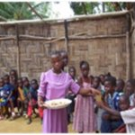 We try to provide some meal to help supplement their one time a day family.