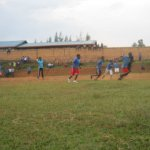 After the conference, a football for peace match was organized.
