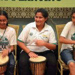 Drumming for Mother Earth in Harmony- this was the greatest Unity