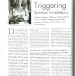 Triggering Spiritual Revolutions